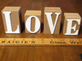 love sign wedding and event hire