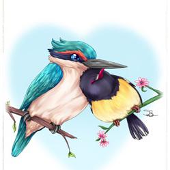 Lovebirds - Card