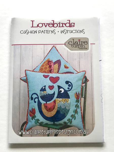 Lovebirds Cushion Patterns