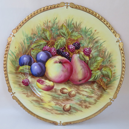 Lovely hand painted fruit