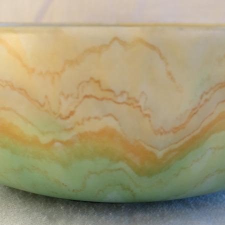 Lovely marble matt glaze