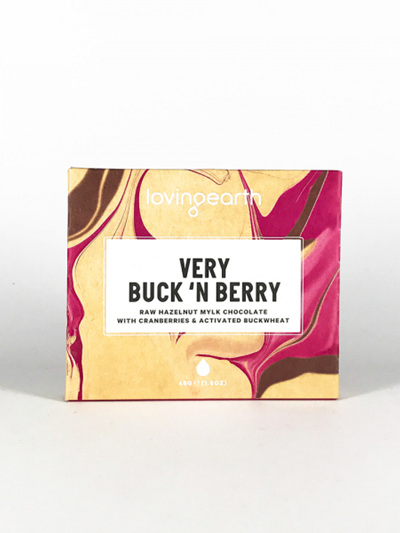 Loving Earth Buck n Berry Choc - 45g