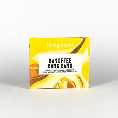 Loving Earth Organic Chocolate Banoffee Bang Bang 45g