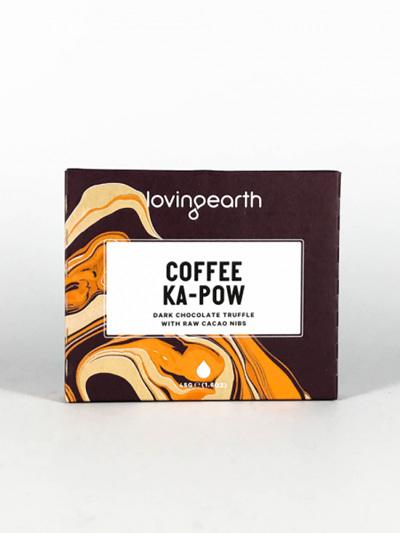 Loving Earth Organic Chocolate Coffee Ka-Pow 45g
