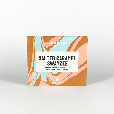Loving Earth Organic Chocolate Salted Caramel Swayzee 45g