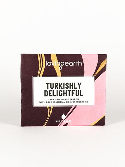 Loving Earth Organic Chocolate Turkishly Delightful 45g