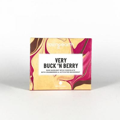 Loving Earth Organic Chocolate Very Buck n Berry 45g