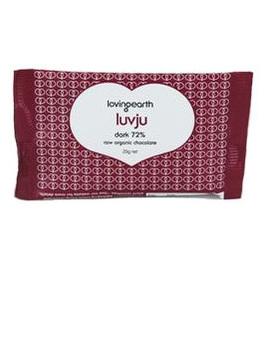 Loving Earth Organic Dark Chocolate 72% 30g