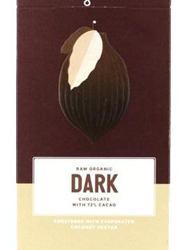 Loving Earth Organic Dark Chocolate 72% 80g