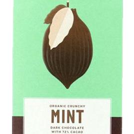 Loving Earth Organic Dark Chocolate Mint 72% 80g