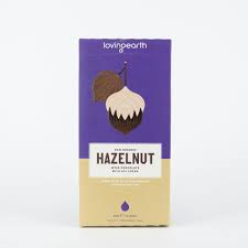Loving Earth Organic Mylk Chocolate Hazelnut 80g