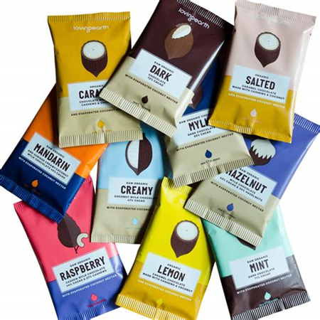 Loving Earth Organic Raw Chocolate Mixed 30g