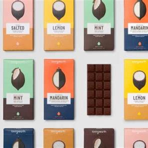 Loving Earth Organic Raw Chocolates Mixed  80g
