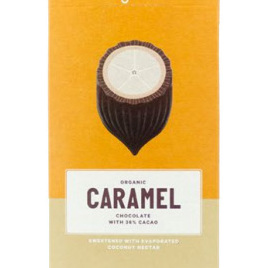 Loving Earth Organic White Chocolate Caramel 80g