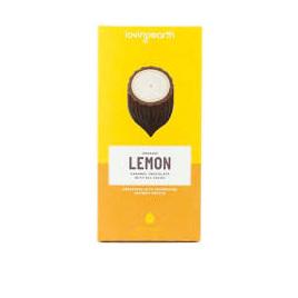 Loving Earth Organic White Chocolate Lemon 80g