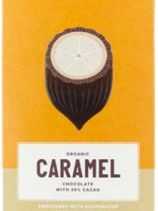 Loving Earth Raw Organic Bar 80g - Caramel(white choc)
