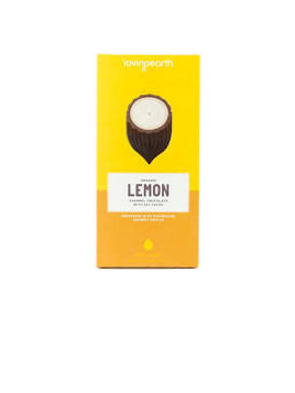 Loving Earth Raw Organic Bar 80g - Lemon Caramel(white choc)
