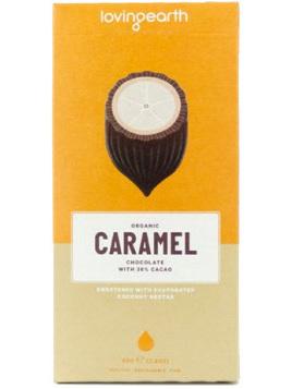 Loving Earth White Chocolate Caramel 80g