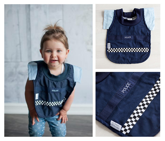 LP01 Baby Police Bib