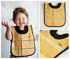 LP07 Baby Fire Bib