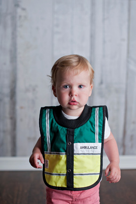 LP10 Baby Ambulance Bib