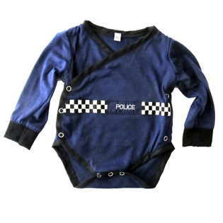 LP34 Onsie, Police with sleeves.