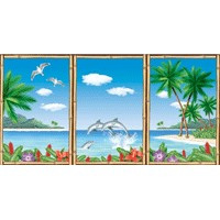 Luau - Wall Decorating Kit