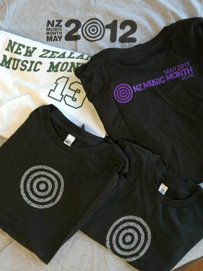 Lucky Dip NZ Music Month Merch (Tees)