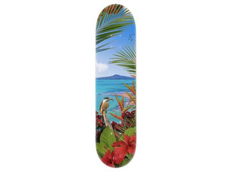 Lucy G Kingfisher Reef Skateboard Deck Art