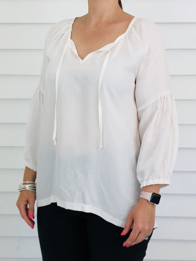 Lucy Top WHITE