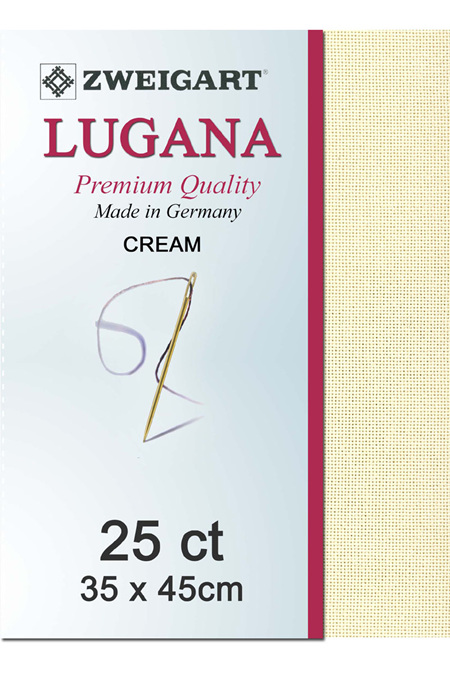 Lugana 25ct Cream