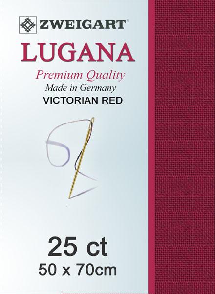 Lugana 25ct Victorian Red
