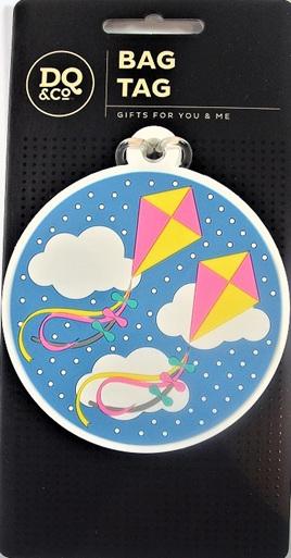 Luggage Tag: Dancing Kites