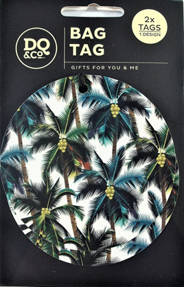 Luggage Tags x 2: Palm Haven