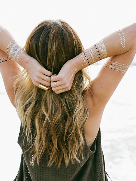 Lulu DK Metallic Tattoos - Mulholland