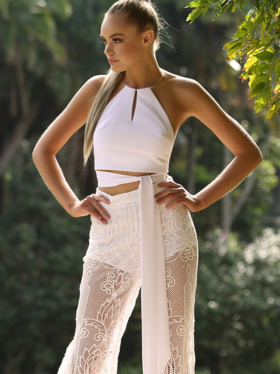 Luminosity Top - White