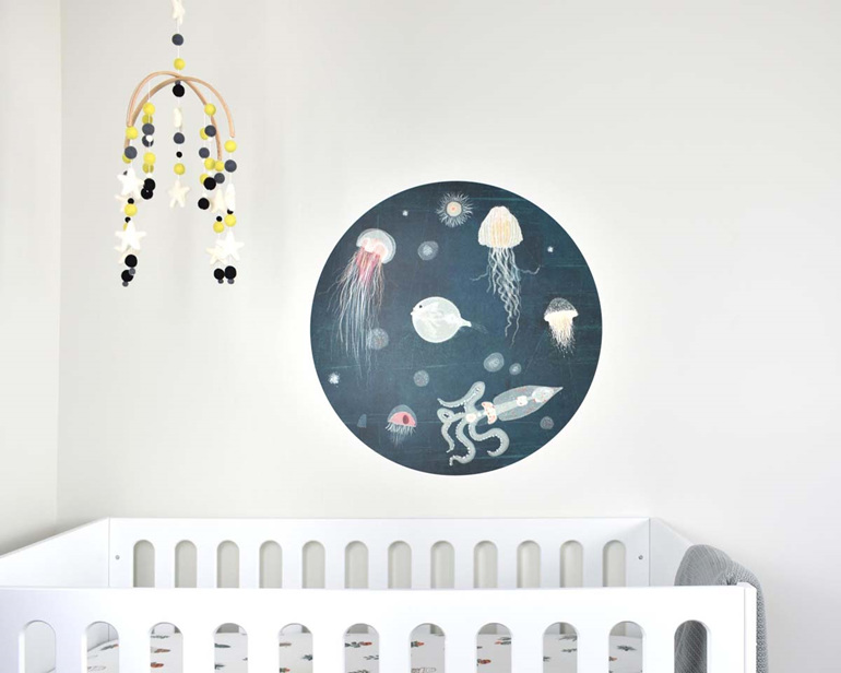 Lumo wall decal dot - under the sea