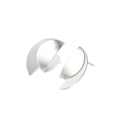 Luna Half-Moon Post Earrings