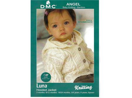 Luna Hooded Jacket Angel Pattern