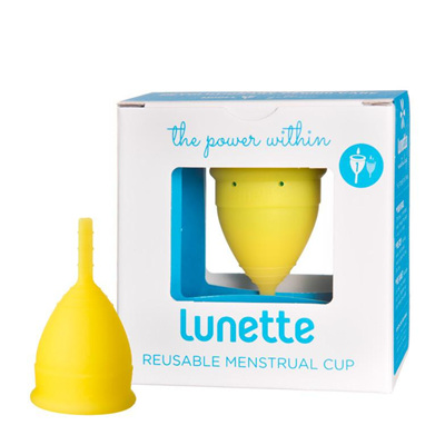 Lunette Menstrual Cup Yellow