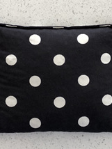 Lupin Seed Heat Bag - Black with White Spots