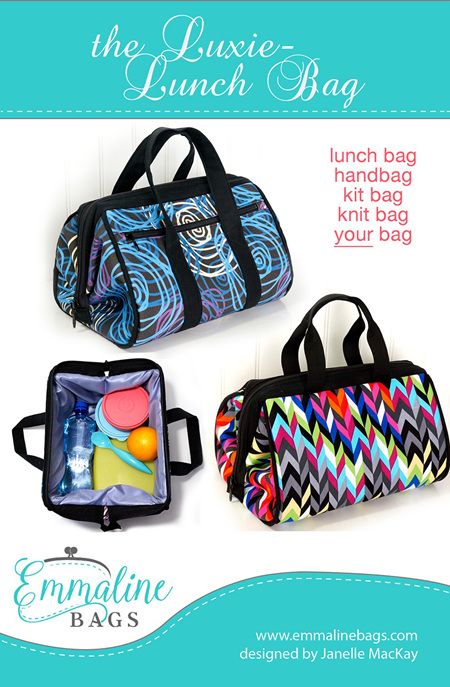 Luxie Lunch Bag from Emmaline Bags