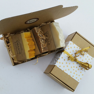 Luxurious Large 3x  Soap Bar Gift Box