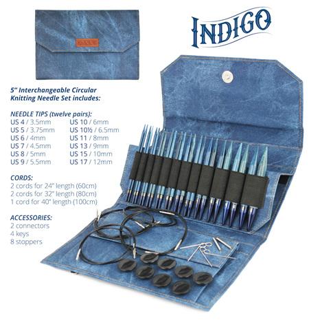 Lykke 5 Inch Needles Set