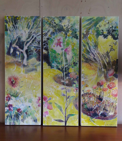 Lynda Mapplebeck Three Screens Triptych