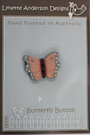 Lynette Anderson Butterfly Button