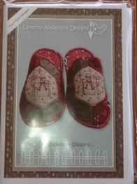 Lynette Anderson Snowman Slippers