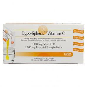 Lypo-Spheric Vitamin C 1000mg - 30 lypospheric vitamin C 1000mg sachets