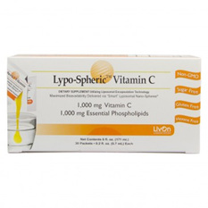 Lypo-Spheric Vitamin C 1000mg - 30 lypospheric vitamin C 1000mg sachets