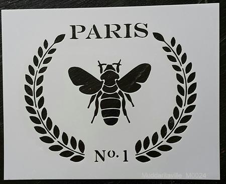 M0024 - Paris Bee Laurel Wreath Mudd